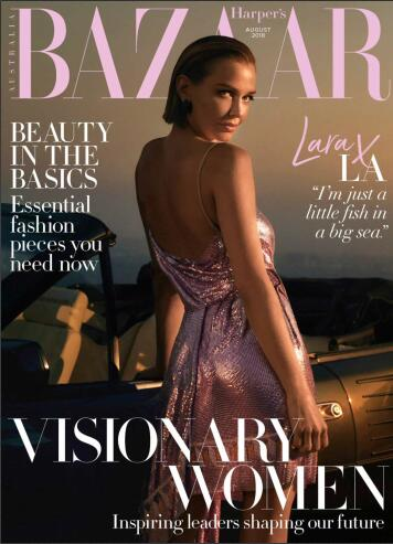 【澳大利亚版】Harper's Bazaar(时尚芭莎)2018年8月