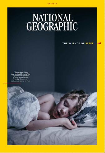 美国国家地理(National Geographic)2018年8月