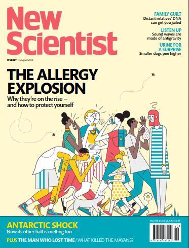 新科学家(New Scientist)2018年8月11日