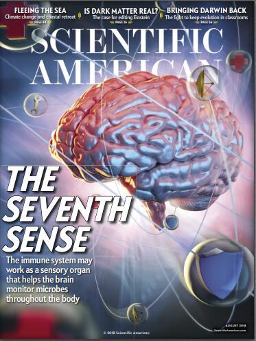 科学美国人(Scientific American)2018年8月