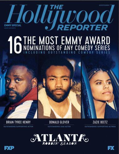 好莱坞报道(The Hollywood Reporter)2018年8月 Emmys 2