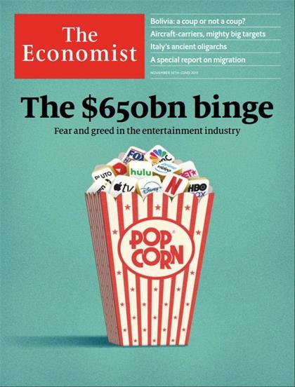 经济学人(The Economist)2019年11月23日(PDF版+Kindle版)