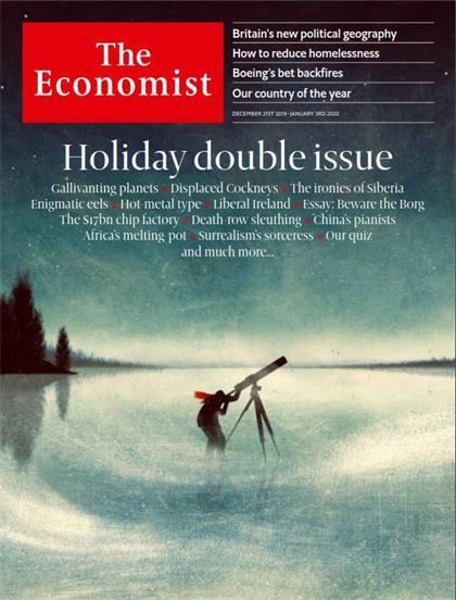 经济学人(The Economist)2019年12月21日&28日(PDF版+音频+Kindle版)