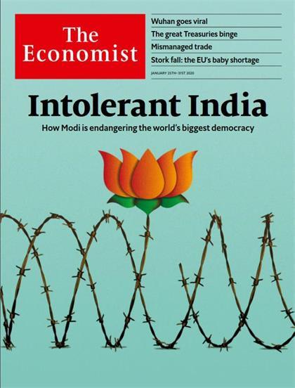 经济学人(The Economist)2020年1月25日(PDF版+音频+Kindle版)