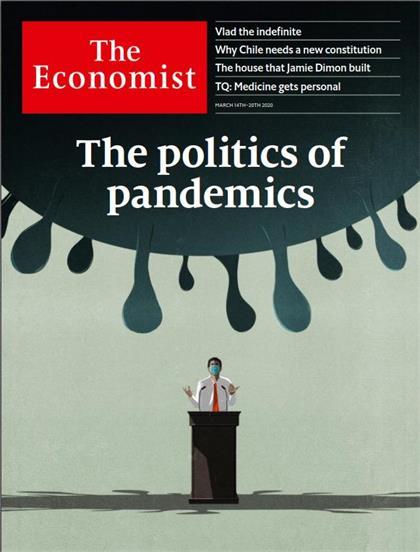 经济学人(The Economist)2020年3月14日(PDF版+音频+Kindle版)